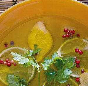 Marinade gingembre & coriandre