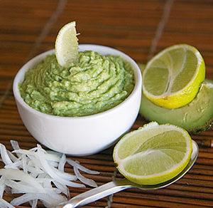 Sauce avocats et citrons verts