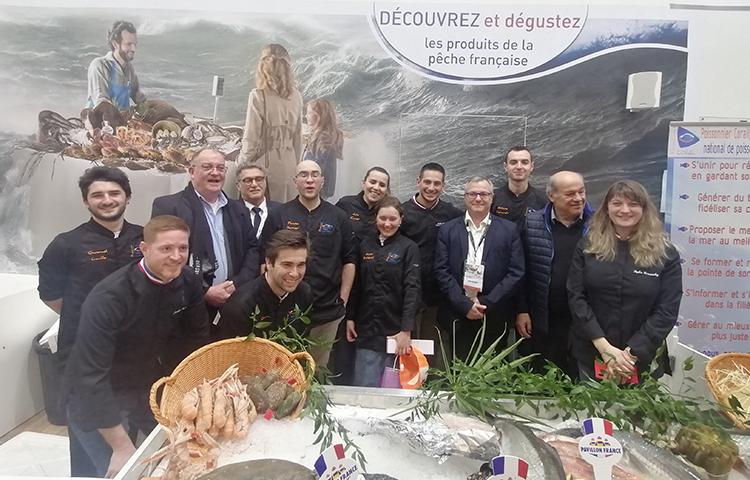 SIA 2020 : concours Poissonnier Pavillon France