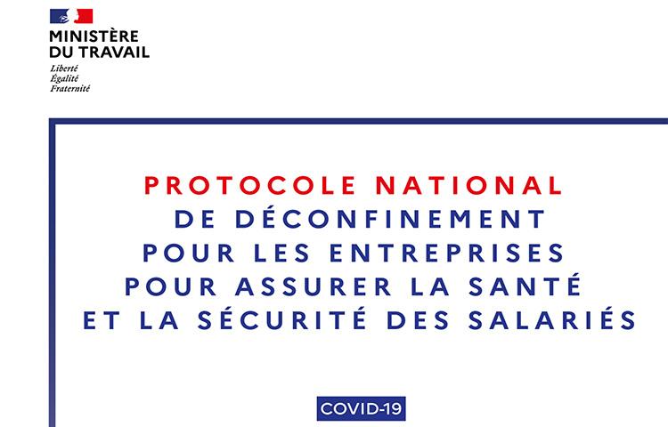Nouveau protocole national de déconfinement pour les entreprises